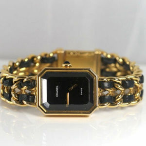 Authentic CHANEL Gold Premiere Watch